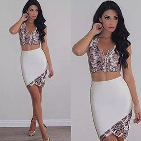 Reina Bandage Dress - Top Glam Shop