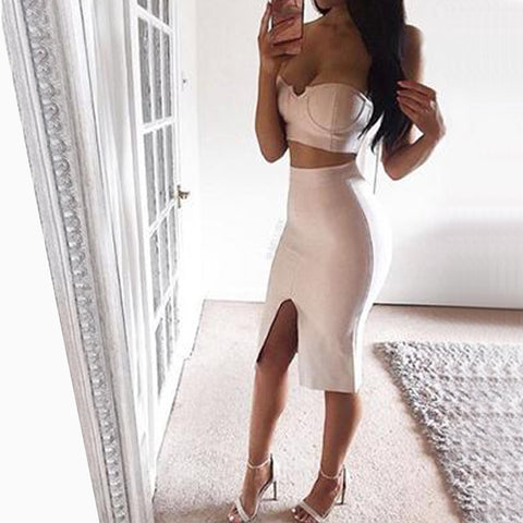 Scarlet Bandage Dress - Top Glam Shop