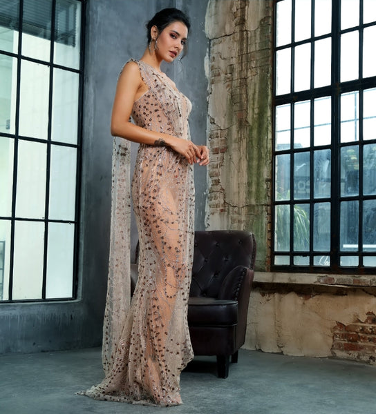 Stefania Gown- Gold - Top Glam Shop