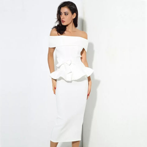 Violeta Dress- White