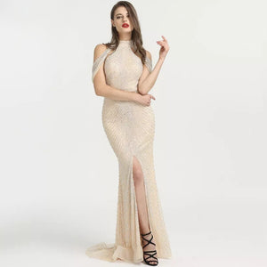 Yasmine Beaded Gown