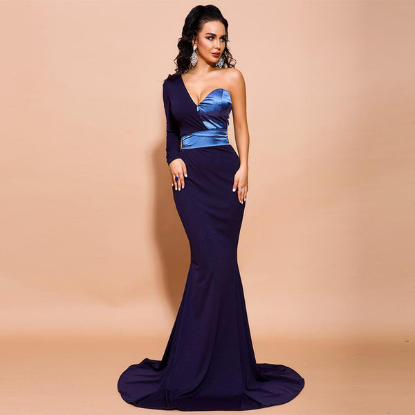 Yesenia Gown- Navy - Top Glam Shop
