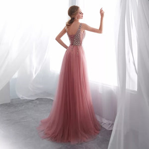 Zendaya Tulle Gown- Pink