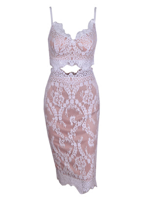 Arianna Lace Dress - Top Glam Shop