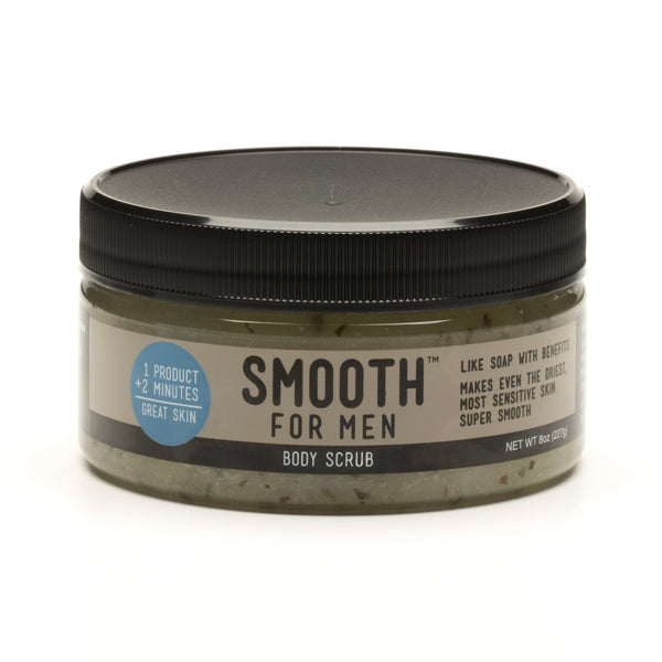 Eucalyptus Spearmint Body Scrub with Emu Oil - Smooth for Men