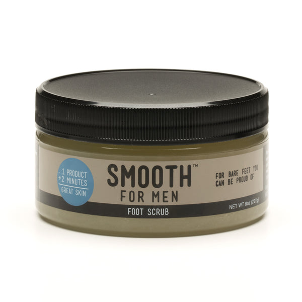 Peppermint Foot Scrub with Emu Oil - Smooth for Men