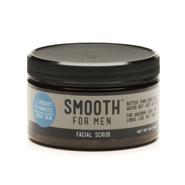 Coffee Facial Scrub with Emu Oil  - Smooth for Men