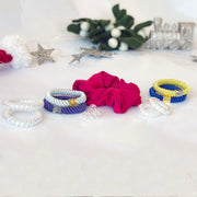 Hamper 3: Scrunchie, Flagship & Telephone Ties