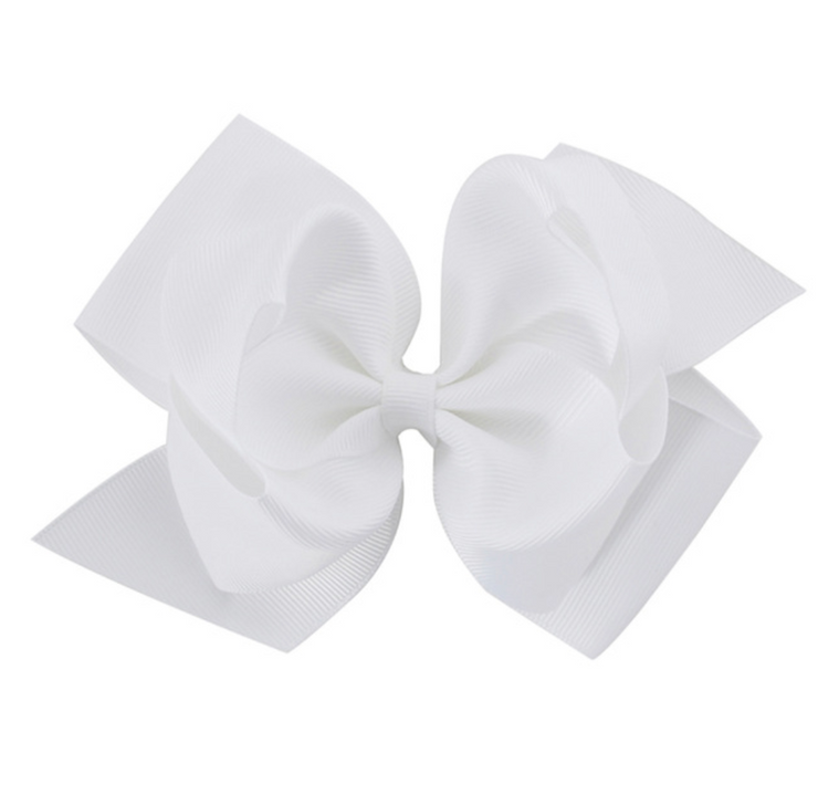 Double Grosgrain Bows (6 in)