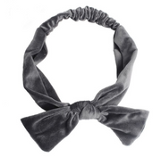 Velvet Square Top Knot Headband