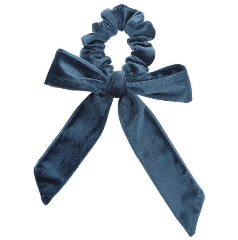 Velvet Big Bow Scrunchies