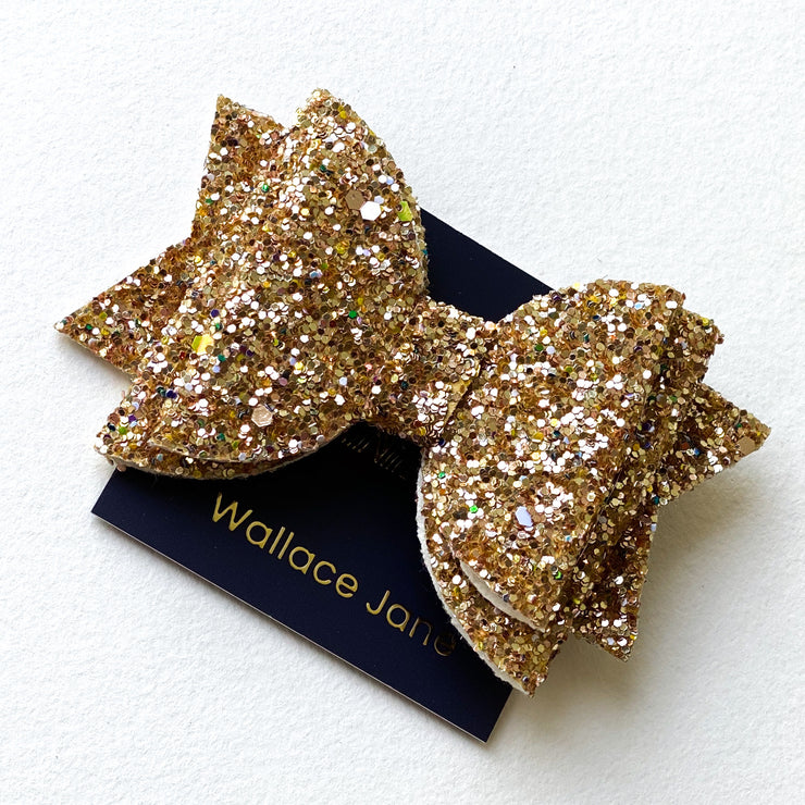 Sparkle & Shine Glitter Bow