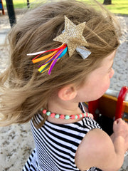 Shooting Star Hair Clip