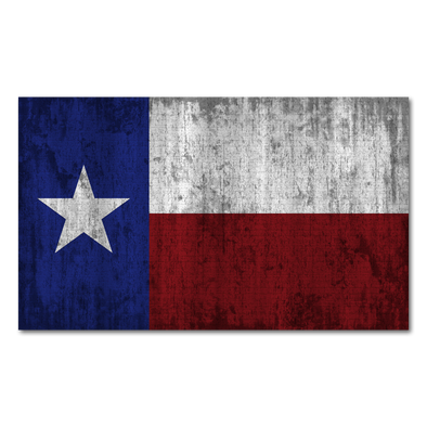 Texas Flag Decal