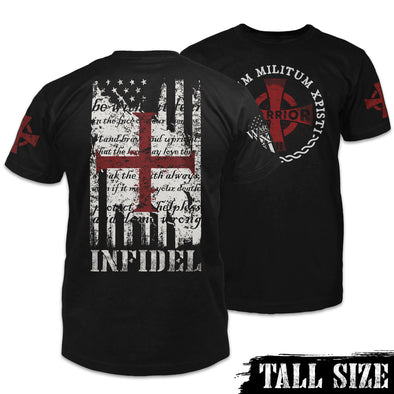 American Infidel Shirt Combo Tall Size