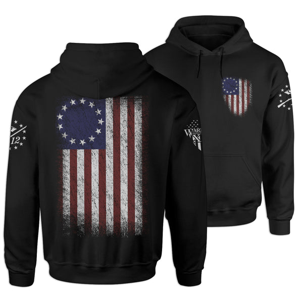 Betsy Ross Flag Hoodie