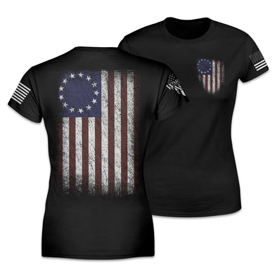 Betsy Ross Flag Women's Shirt