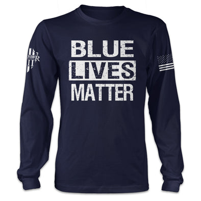 Blue Lives Matter Long Sleeve