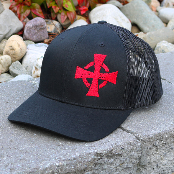 Crusader Cross Snapback Hat