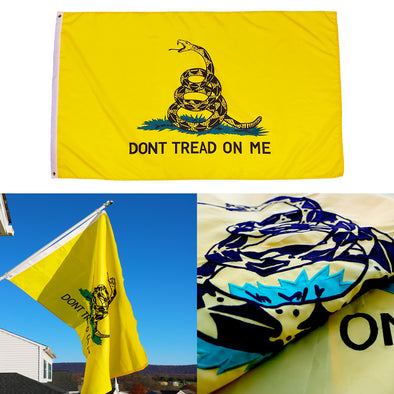Gadsden Don't Tread On Me Flag
