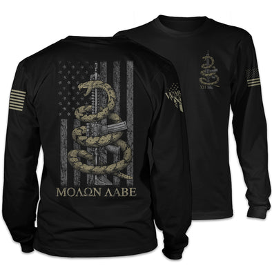 Gadsden Snake Long Sleeve