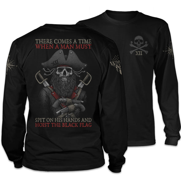 Hoist The Black Flag Long Sleeve