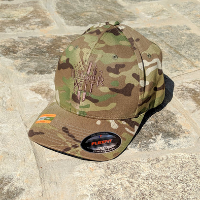 The Warrior Flexfit (Multicam Green)