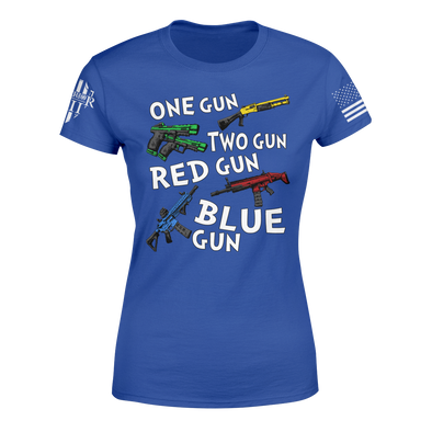 One Gun Two Gun - Women's Relaxed Fit