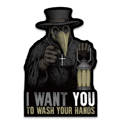 Plague Doctor Decal