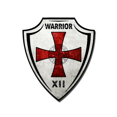 Knights Templar Insignia Crest Decal