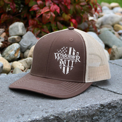 The Warrior Snapback Hat Brown/Khaki