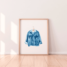 Load image into Gallery viewer, Denim Jacket Print