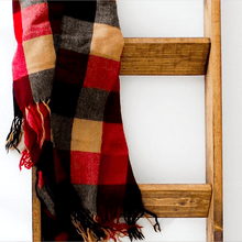 Load image into Gallery viewer, 5 ft. Handmade Wooden Blanket Ladder