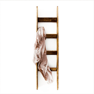 5 ft. Handmade Wooden Blanket Ladder