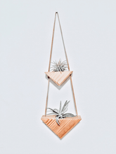 Load image into Gallery viewer, Triangle Wall Hanging vol. 2 - Air Plants Included