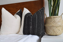 Load image into Gallery viewer, The Bentley African Mud Cloth Pillow Cover