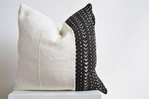 The Bentley African Mud Cloth Pillow Cover