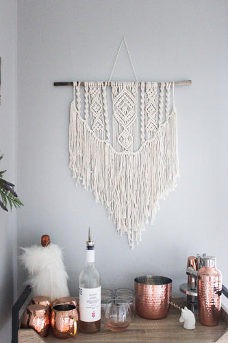 Huron - Medium/Large Handmade Macrame Wall Hanging