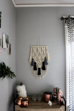 Load image into Gallery viewer, Hanley - Medium Macrame Wall Hanging with Tassels