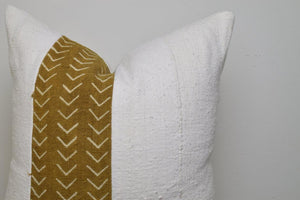 The Venice Stripe African Mud Cloth Pillow Cover