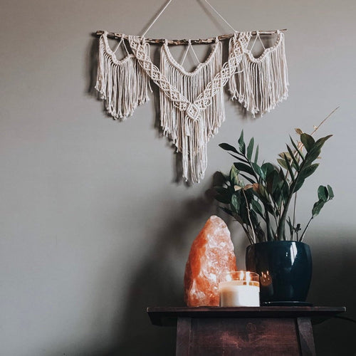 Stella - Medium/Large Fringe Macrame Wall Hanging