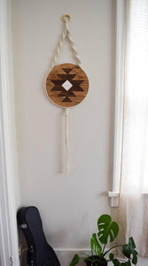 Carme Wood Wall Art Macrame