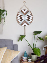 Load image into Gallery viewer, Solana Wood Wall Art Macrame