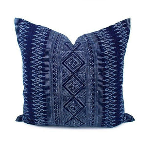 Molly - Thai Batik Hmong Pillow Cover