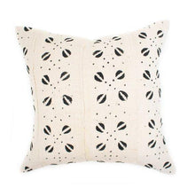 Load image into Gallery viewer, Cait - Beige African Mudcloth Pillow Cover