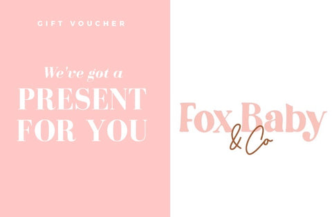 Fox Baby & Co - E Gift Voucher
