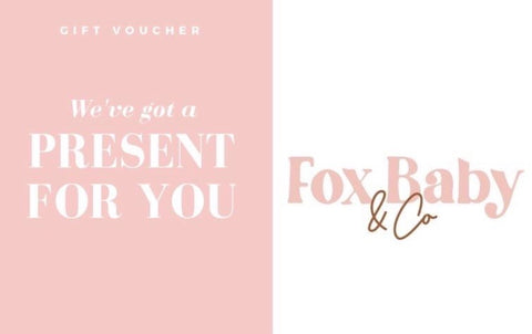 Fox Baby & Co E Gift Card
