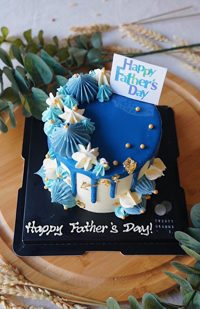 Andrew's Sea Blue Cake