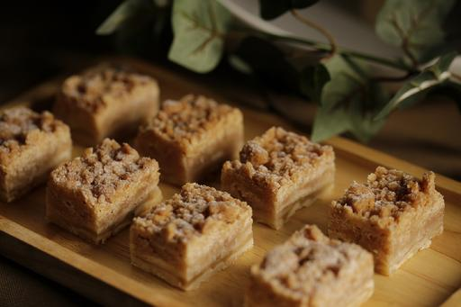 Grandma's Apple Crumble Squares