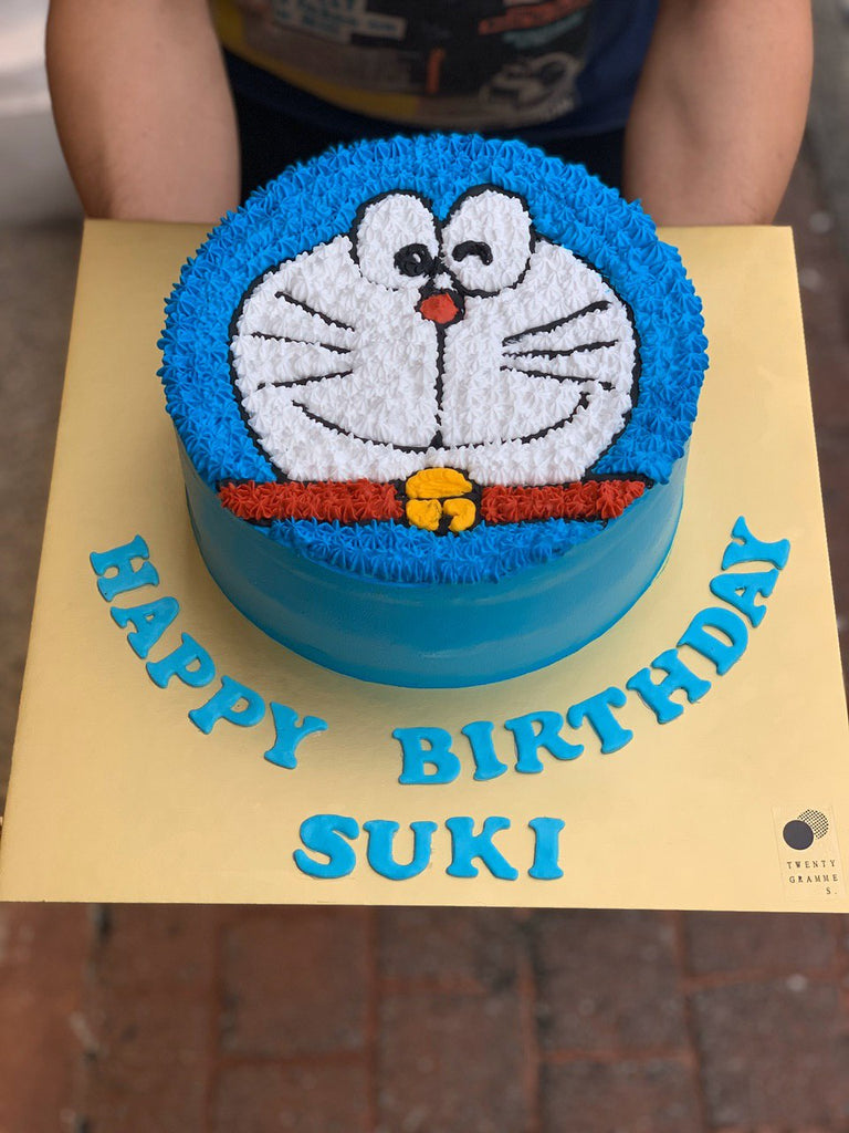 Doraemon Fresh Cream Cake